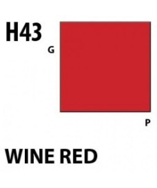 Mr Hobby / Gunze Aqueous Hobby Color Wine Red - 10ml - Mr Hobby / Gunze - MRH-H-043