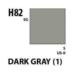 Aqueous Hobby Color Dark Gray 1 - 10ml - Mr Hobby / Gunze - MRH-H-082