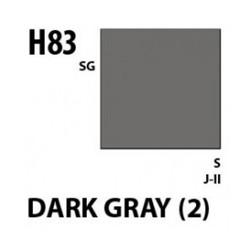Aqueous Hobby Color Dark Gray 2 - 10ml - Mr Hobby / Gunze - MRH-H-083