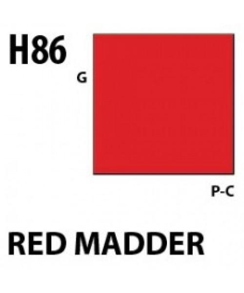 Mr Hobby / Gunze Aqueous Hobby Color Red Madder - 10ml - Mr Hobby / Gunze - MRH-H-086