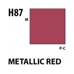 Aqueous Hobby Color Metallic Red - 10ml - Mr Hobby / Gunze - MRH-H-087
