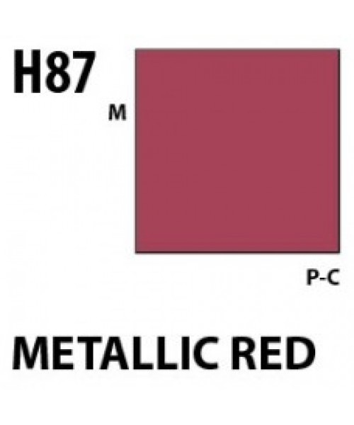 Mr Hobby / Gunze Aqueous Hobby Color Metallic Red - 10ml - Mr Hobby / Gunze - MRH-H-087