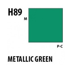 Aqueous Hobby Color Metallic Green - 10ml - Mr Hobby / Gunze - MRH-H-089