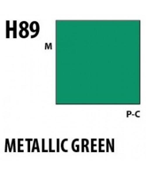 Mr Hobby / Gunze Aqueous Hobby Color Metallic Green - 10ml - Mr Hobby / Gunze - MRH-H-089