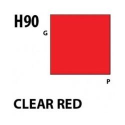 Aqueous Hobby Color Clear Red - 10ml - Mr Hobby / Gunze - MRH-H-090
