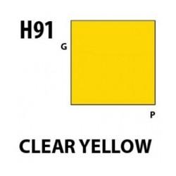 Aqueous Hobby Color Clear Yellow - 10ml - Mr Hobby / Gunze - MRH-H-091