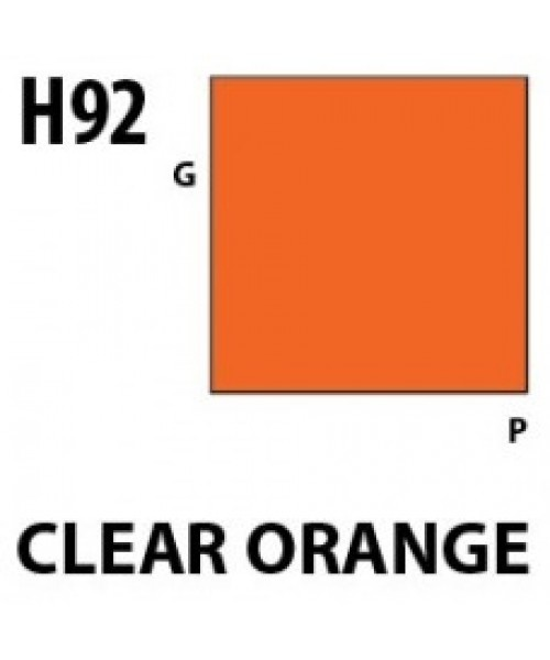 Mr Hobby / Gunze Aqueous Hobby Color Clear Orange - 10ml - Mr Hobby / Gunze - MRH-H-092