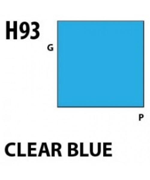 Mr Hobby / Gunze Aqueous Hobby Color Clear Blue - 10ml - Mr Hobby / Gunze - MRH-H-093