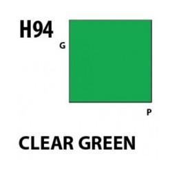 Aqueous Hobby Color Clear Green - 10ml - Mr Hobby / Gunze - MRH-H-094