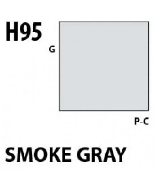 Mr Hobby / Gunze Aqueous Hobby Color Smoke Gray - 10ml - Mr Hobby / Gunze - MRH-H-095