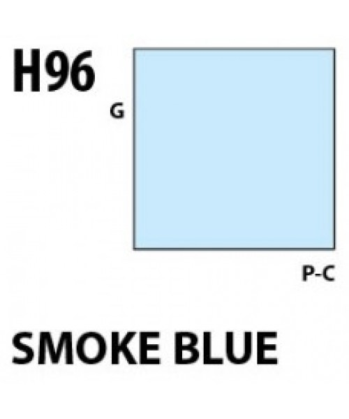 Mr Hobby / Gunze Aqueous Hobby Color Smoke Blue - 10ml - Mr Hobby / Gunze - MRH-H-096