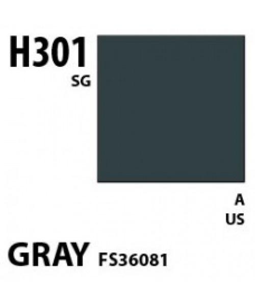 Mr Hobby / Gunze Aqueous Hobby Color Gray Fs 36081 - 10ml - Mr Hobby / Gunze - MRH-H-301