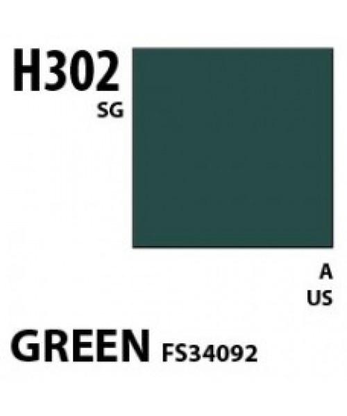 Mr Hobby / Gunze Aqueous Hobby Color Green Fs 34092 - 10ml - Mr Hobby / Gunze - MRH-H-302
