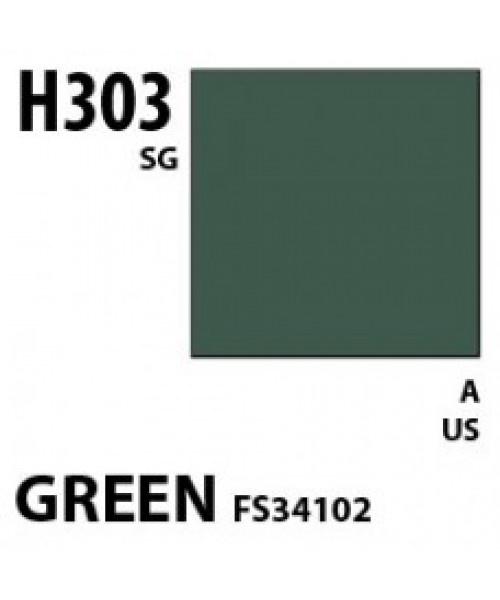 Mr Hobby / Gunze Aqueous Hobby Color Green Fs 34102 - 10ml - Mr Hobby / Gunze - MRH-H-303