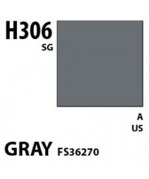 Mr Hobby / Gunze Aqueous Hobby Color Gray Fs 36270 - 10ml - Mr Hobby / Gunze - MRH-H-306