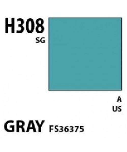 Mr Hobby / Gunze Aqueous Hobby Color Gray Fs 36375 - 10ml - Mr Hobby / Gunze - MRH-H-308