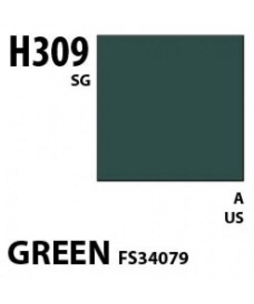 Mr Hobby / Gunze Aqueous Hobby Color Green Fs 34079 - 10ml - Mr Hobby / Gunze - MRH-H-309