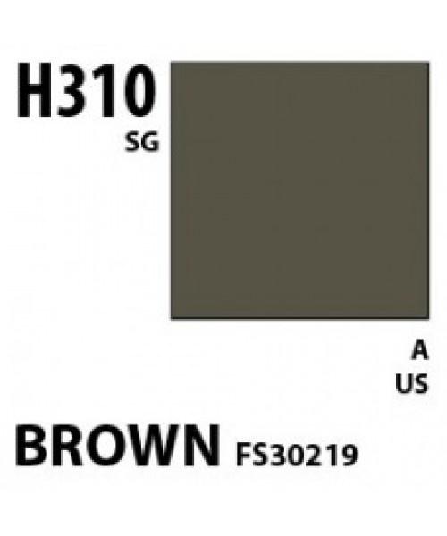Mr Hobby / Gunze Aqueous Hobby Color Brown Fs 30219 - 10ml - Mr Hobby / Gunze - MRH-H-310