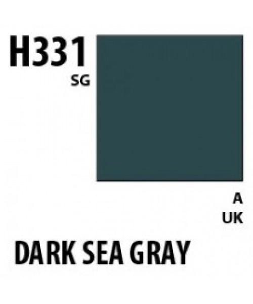 Mr Hobby / Gunze Aqueous Hobby Color Dark Seagray Bs381C/638 - 10ml - Mr Hobby / Gunze - MRH-H-331