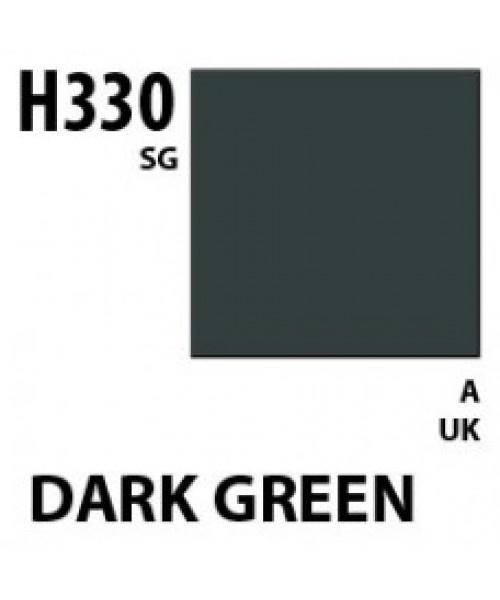Mr Hobby / Gunze Aqueous Hobby Color Dark Green Bs381C/641 - 10ml - Mr Hobby / Gunze - MRH-H-330