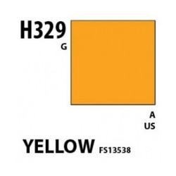 Aqueous Hobby Color Yellow Fs 13538 - 10ml - Mr Hobby / Gunze - MRH-H-329