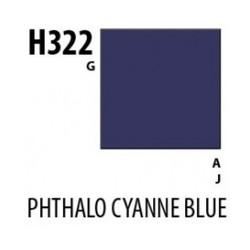 Aqueous Hobby Color Phthalo Cyanine Blue - 10ml - Mr Hobby / Gunze - MRH-H-322