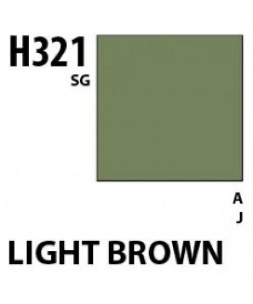 Mr Hobby / Gunze Aqueous Hobby Color Light Brown - 10ml - Mr Hobby / Gunze - MRH-H-321
