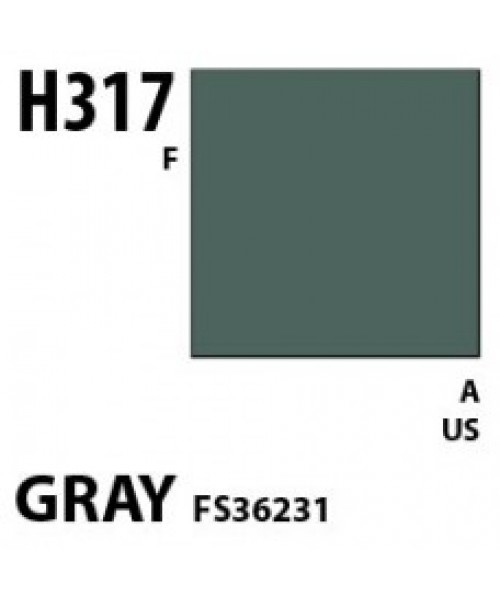Mr Hobby / Gunze Aqueous Hobby Color Gray Fs 36231 - 10ml - Mr Hobby / Gunze - MRH-H-317