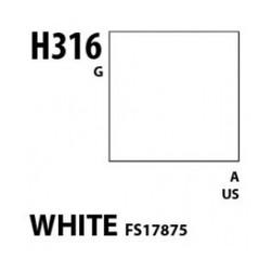 Aqueous Hobby Color White Fs 17875 - 10ml - Mr Hobby / Gunze - MRH-H-316