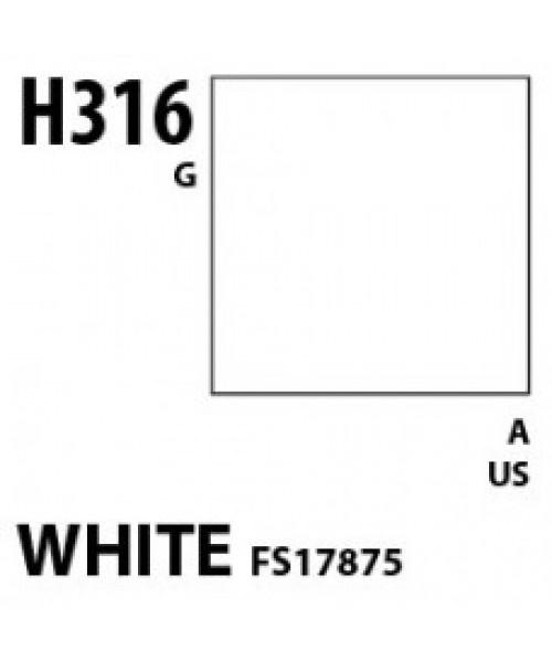 Mr Hobby / Gunze Aqueous Hobby Color White Fs 17875 - 10ml - Mr Hobby / Gunze - MRH-H-316