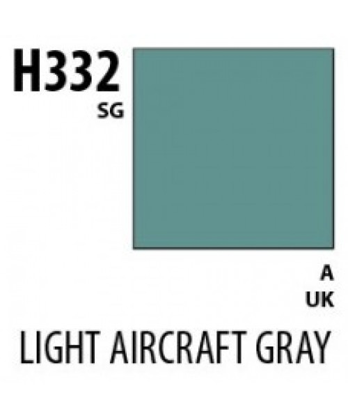Mr Hobby / Gunze Aqueous Hobby Color Light Aircraft Gray Bs381C/627 - 10ml - Mr Hobby / Gunze - MRH-H-332