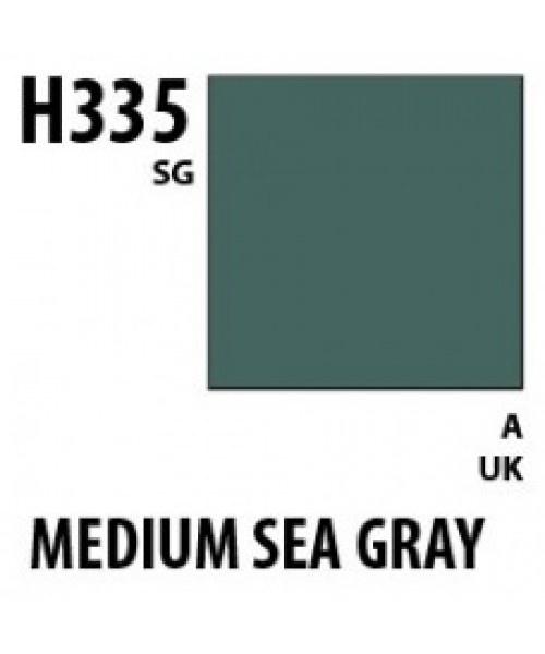 Mr Hobby / Gunze Aqueous Hobby Color Medium Seagray Bs381C/637 - 10ml - Mr Hobby / Gunze - MRH-H-335