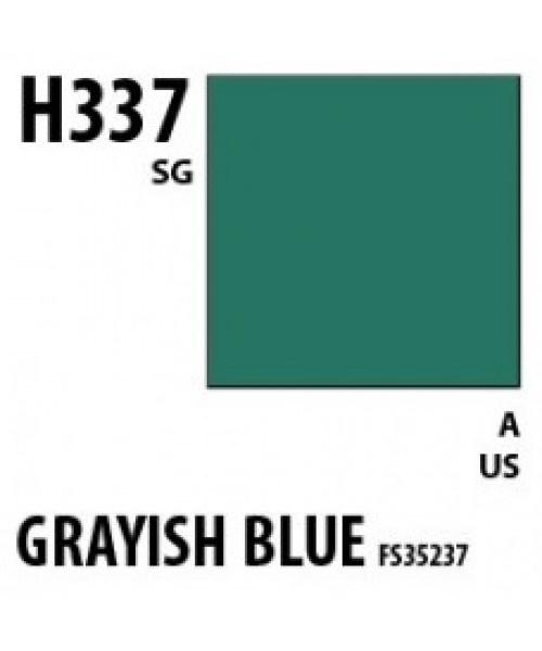 Mr Hobby / Gunze Aqueous Hobby Color Grayish Blue Fs35237 - 10ml - Mr Hobby / Gunze - MRH-H-337