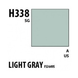 Aqueous Hobby Color Light Gray Fs36495 - 10ml - Mr Hobby / Gunze - MRH-H-338