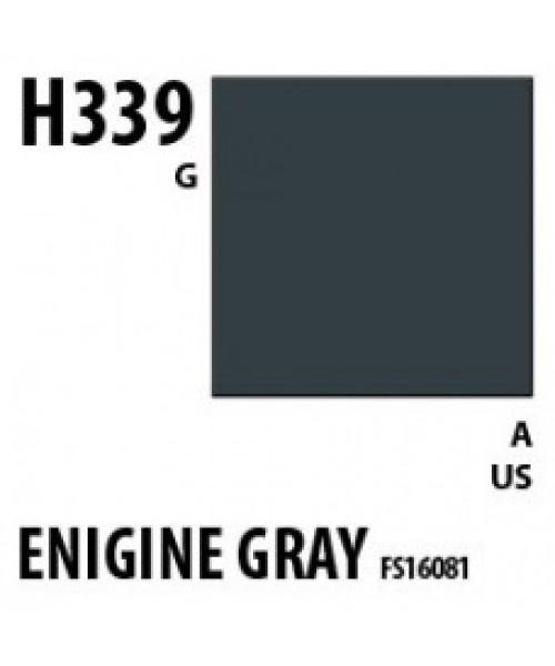 Mr Hobby / Gunze Aqueous Hobby Color Engine Gray Bs4800/18B21 - 10ml - Mr Hobby / Gunze - MRH-H-339