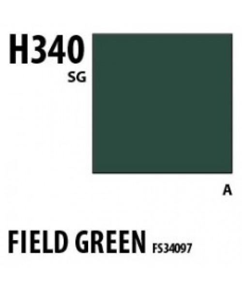 Mr Hobby / Gunze Aqueous Hobby Color Field Green Fs34097 - 10ml - Mr Hobby / Gunze - MRH-H-340