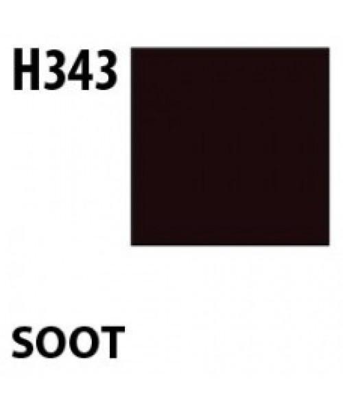 Mr Hobby / Gunze Aqueous Hobby Color Soot - 10ml - Mr Hobby / Gunze - MRH-H-343