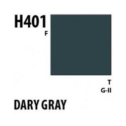Aqueous Hobby Color Dark Gray - 10ml - Mr Hobby / Gunze - MRH-H-401