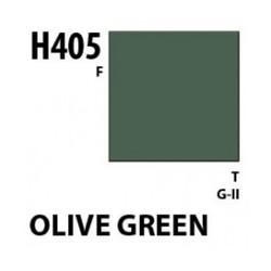 Aqueous Hobby Color Olive Green - 10ml - Mr Hobby / Gunze - MRH-H-405