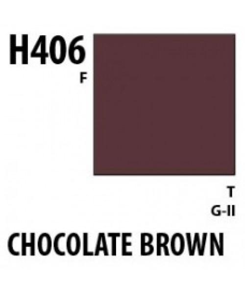Mr Hobby / Gunze Aqueous Hobby Color Choco Brown - 10ml - Mr Hobby / Gunze - MRH-H-406