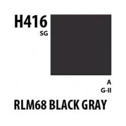 Aqueous Hobby Color Rlm66 Blue Gray - 10ml - Mr Hobby / Gunze - MRH-H-416