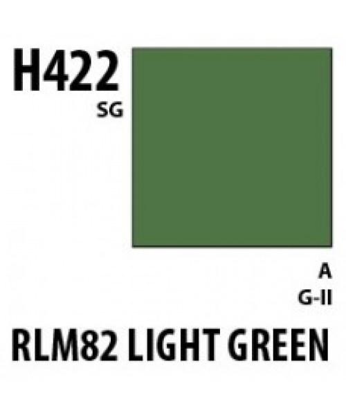 Mr Hobby / Gunze Aqueous Hobby Color Rlm82 Light Green - 10ml - Mr Hobby / Gunze - MRH-H-422