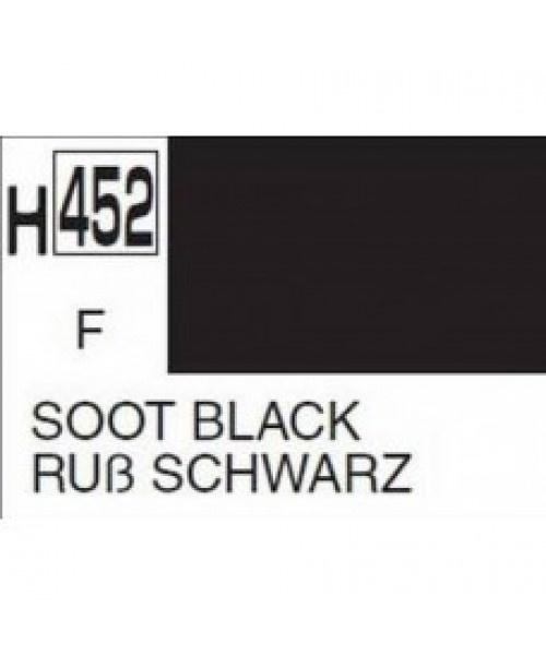 Mr Hobby / Gunze Aqueous Hobby Color Soot Black - 10ml - Mr Hobby / Gunze - MRH-H-452