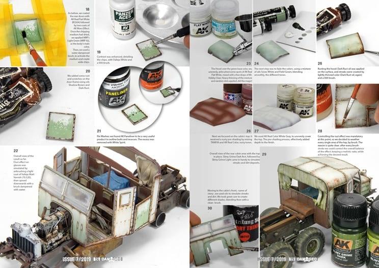 Damaged Magazine Damaged, Worn And Weathered Models Magazine - 08 (English)