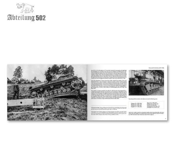 Abteilung 502 Panzerwaffe Tarnfarben (English)