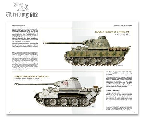 Abteilung 502 Panzerdivisionen   (English)