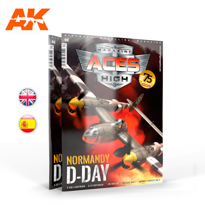 Aces High Issue 16. Aces High Normandy D-Day - English