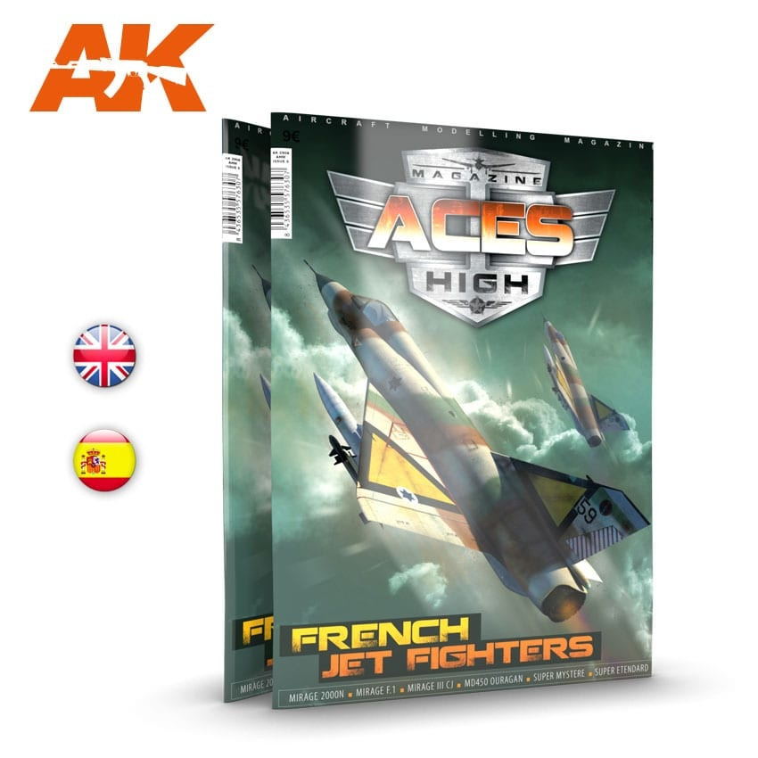Aces High Issue 15. Aces High French Jet Fighters - English