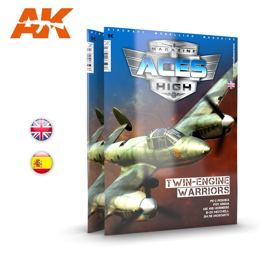 Aces High Issue 14. Aces High Twin Warriors - English