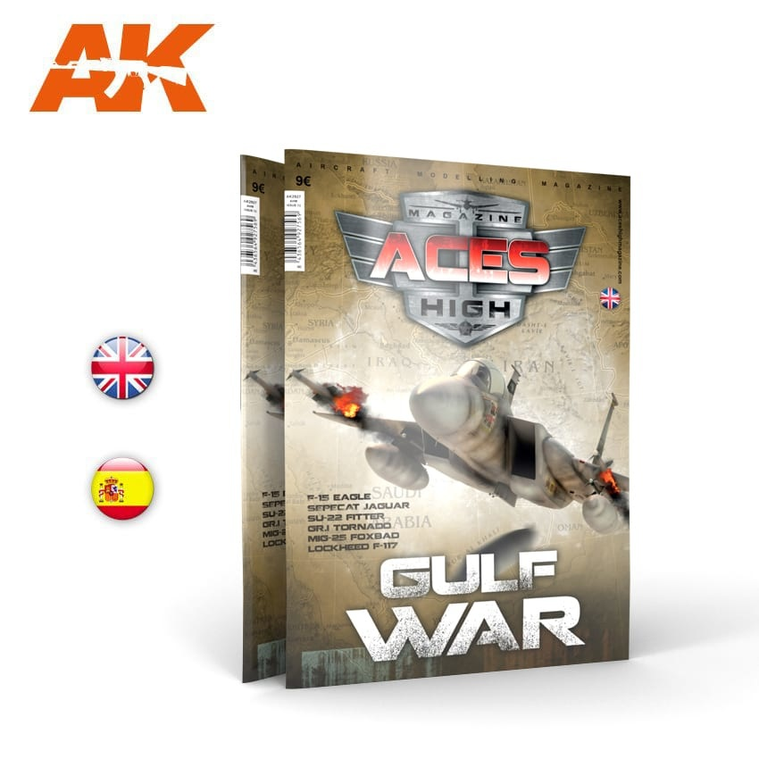 Aces High Issue 13. Aces High Gulf War - English